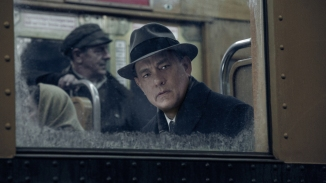 Tom Hanks as lawyer James Donovan in Bridge of Spies.