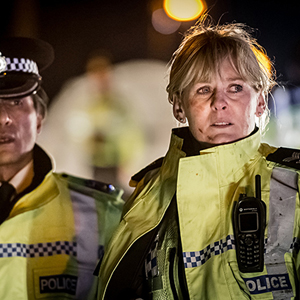 Happy Valley, Ramon Tikaram and Sarah Lancashire